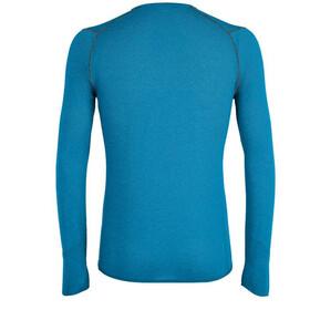SALEWA Pedroc Hybrid 2 Dry T-shirt Manches longues Homme, blue danube melange